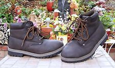 Mens Faded Glory Men size 9 brown Ankle High boots shoes