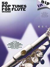 50 clasificado Pop flauta solos libro de partituras. Ed Sheeran Beyonce Lady Gaga Adele