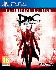 Devil May Cry  Definitive Edition PS4 ESPAÑOL NUEVO PRECINTADO CASTELLANO DMC