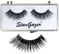 Stargazer Reusable False Fake Eyelashes Halloween Makeup Fancy Dress + Glue