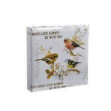 6x4'' Vintage Birds Slip In Case Memo Photo Album  200 Holds - TB200