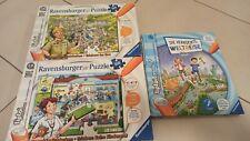 Tiptoi Puzzle Beim Kinderarzt und Im Zoo 100 Teile,  Die verrückte Weltreise