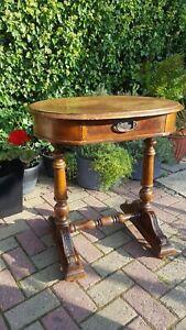 18TH CENTURY ANTIQUE GEORGIAN ENGLISH OAK/WALNUT PINE SIDE TABLE