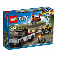 60148 Lego City Great Vehicles Atv Race Team 239 Pieces Age 5-12 New For 2017!