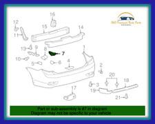 Genuine OEM Toyota 11-13 Corolla Rear Right RH Bumper Support Bracket Retainer