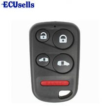 New Remote Keyless Key Fob Replacement Case For Honda Odyssey Mini Van 5 Button