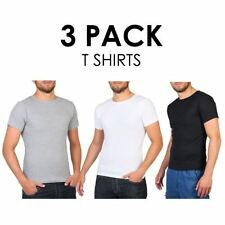 Crew Neck Stretch Multipack T-Shirts for Men
