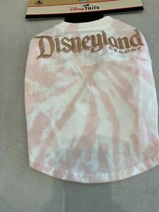 NWT Disney Parks Tails Pet Spirit Jersey Dog Shirt Size S