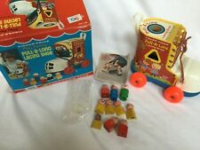 Fisher Price Play Family Pull Along Lacing Shoe 146, People, Original Box Nice!!
