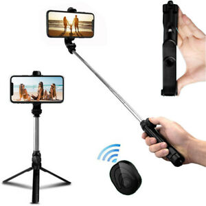 Selfie Stick Tripod Remote Desktop Stand Cell Phone Holder For i Phone Bluetooth