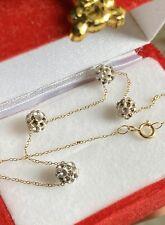 18K Yellow Gold Bracelet 2-tone