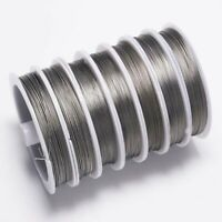 1Roll-100m Strong Stainless Steel Beading Wire Tiger Tail For Jewelry Making DIY