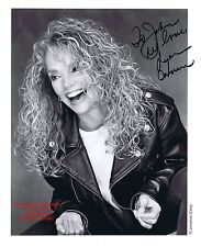DYAN CANNON American Actress TV Film Director Producer  HAND SIGNED B/W Photo