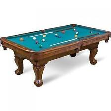 "87"" Pool Game Table Billiard Billiards Set Light Cues Balls Chalk Triangle NEW"