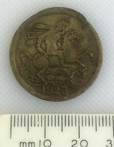 Collectable George IV Britannia 1823 Brass Medallion Token