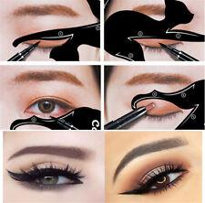 2Pcs Cat Line Pro Eye Makeup Tool Women Eyeliner Stencils Template Shaper Model