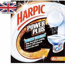 Paquete De 8 tabletas Harpic Power Plus