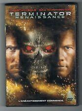 TERMINATOR RENAISSANCE - CHRISTIAN BALE & SAM WORTHINGTON - DVD EN BON ETAT