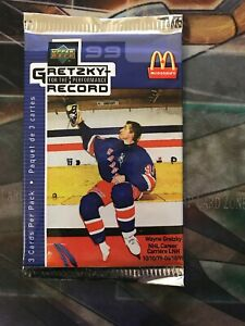 1999 Upper Deck Gretzky for the performance record McDonald Booster Pack | 1Pack