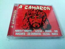 "CD ""A CAMARON"" CD 12 TRACKS PARRITA TOMATITO TIJERITAS AMADOR BONI MANZANITA LOS"