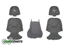 09-10 DODGE RAM 1500 40/20/40 BENCH SEAT CHARCOAL GRAY FRONT SEAT COVERS MOPAR