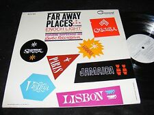FAR AWAY PLACES Exotica Mood Gatefold Lp COMMAND Enoch Light Harpsichord PERCUSS