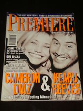 PREMIERE magazine UK #40, 1996, Keanu Reeves, Cameron Diaz, John Travolta, RARE