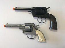 Vintage Toy Diecast Western Cap Pistol / Gun - Set of 2.