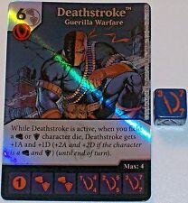 Foil DEATHSTROKE: GUERILLA WARFARE 12 Green Arrow and The Flash Dice Masters