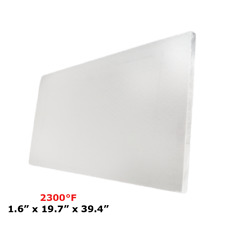 """Ceramic Fiber Insulation Board (2300 F) (1.6"""" X 19.7"""" X 39.4"""")"""