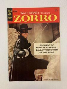 Zorro #1 Walt Disney Presents 1966 Gold Key Comics Guy Williams photo cover