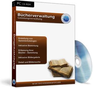 Bücherverwaltung,Bücher sammeln,Bibliothek Software,Verleih,Archiv Programm,EDV