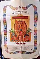 "Won Ton Ton Bruce Dern Madeline Kahn Movie Poster Folded 40""x27"""