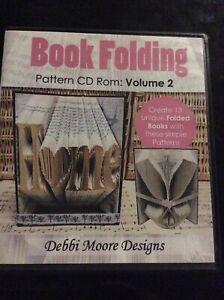 Debbi Moore CD Roms Book Folding Pattern Volume 2