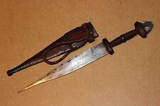SUDAN old african knife ancien couteau afrique TEBU afrika africa soudan dolk