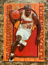 1995-96 Flair Hardwood Leaders MOOKIE BLAYLOCK #1 of 27 - Atlanta Hawks