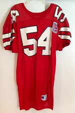 Maryland Terrapins Steve Ingram 54 game worn jersey College Football 125th patch