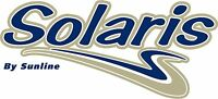 "NEW SunLine Solaris camper / travel trailer 14"" vinyl side decal"