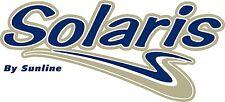 "NEW SunLine Solaris camper / travel trailer 14"" vinyl side decal"