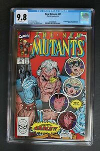 NEW MUTANTS #87 1st full CABLE 1990 X-FORCE Movie 1st Print LIEFELD CGC NMMT 9.8