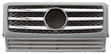 Mercedes Benz G-Class G500 G550 G55 AMG W463 90-12 Front Grille Chrome & Primed