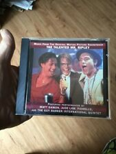 The Talented Mr. Ripley : Music from the Motion Picture Soundtrack Cd Rare Promo