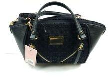 Juicy Couture Purse Satchel Handbag Black w/ Shoulder Strap Medium Size