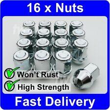 16 x ALLOY WHEEL NUTS FOR MAZDA (19MM HEX) M12x1.5 LUG STUD BOLT SET [V4O]