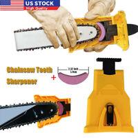 Chainsaw Teeth Sharpener 14-20 Inch Saw Chain Blade Fast Sharpening Stone System