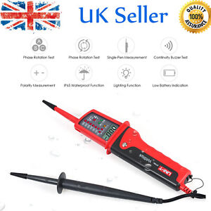 UNI-T UT15C Digital Voltage Tester Three-phase AC/DC Electrical Phase Test Pen