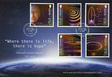 Isle of Man IOM 2018 FDC Stephen Hawking 5v Special Cover Science Physics Stamps