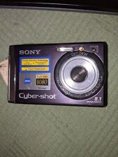 Sony Cyber-shot DSC-W90 8.1MP Digital Camera - Purple