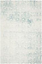 Safavieh Bettine Area Rug Woven Turquoise Blue Ivory, 200 x 300 cm