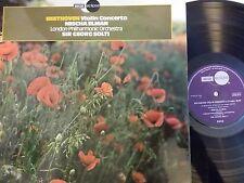 Decca ECM813 Mischa Elman/Solti BEETHOVEN Concerto - NM